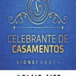 Celebrante Sidnei Abreu