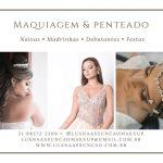 Produção de noivas  – Rj – Luana Assunção Makeup