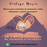 Vintage Music Sings Love – Grupo Musical