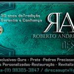 Roberto Andrietta Design de Jóias 50 Anos de Tradição